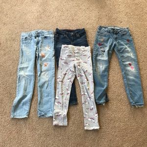 Levi's Bottoms - Lot of 4 girls jeans